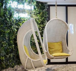 Custom Green Wall Hospitality Decor