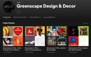Greenscape on Spotify