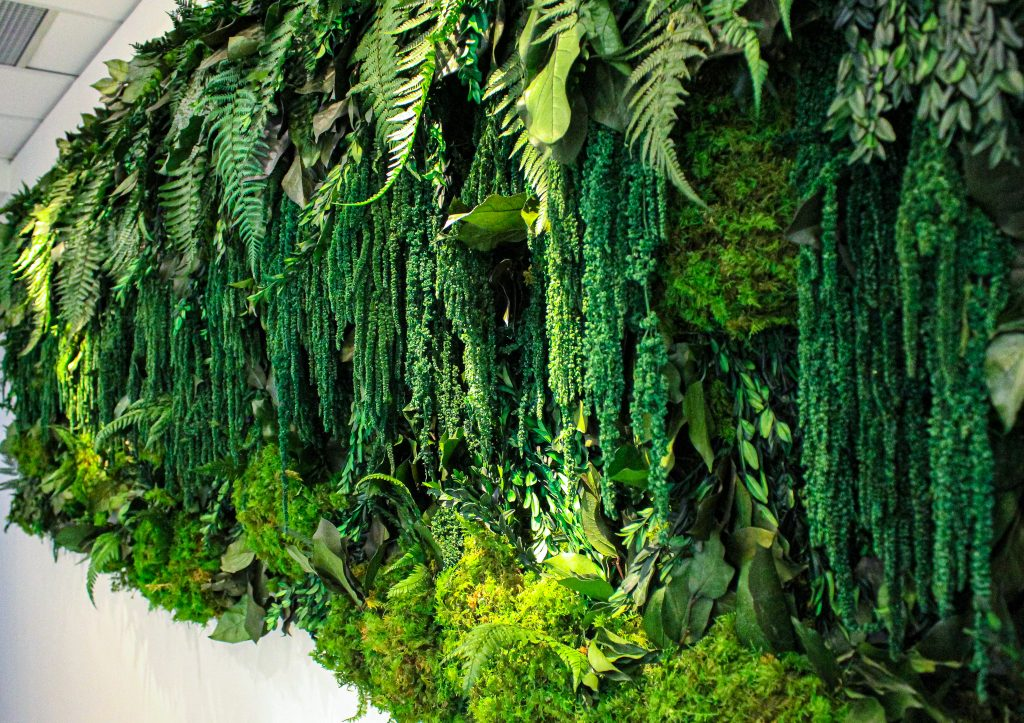 Faux Greenery Solutions Green Wall