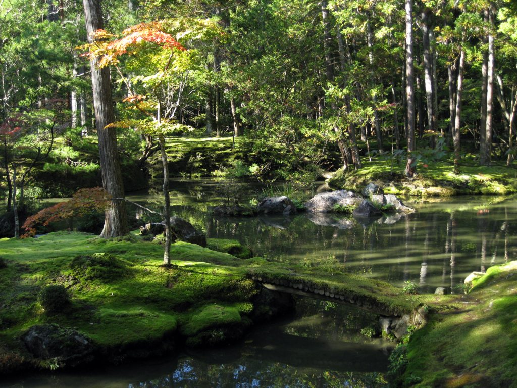 Saihoji Temple Beautiful Moss Garden