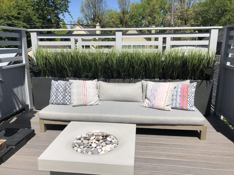outdoor artificial plants for privacy