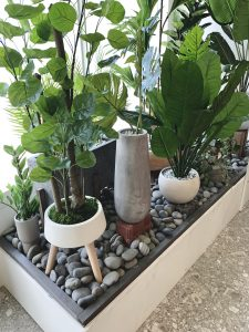 Interior Artificial Plants Window Display Artificial plants are versatile and easy to maintain for all spaces